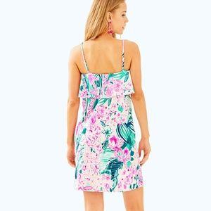 542c03313398cd Lilly Pulitzer Dresses - Lilly Pulitzer Annastasha Dress in Multi Via Flora